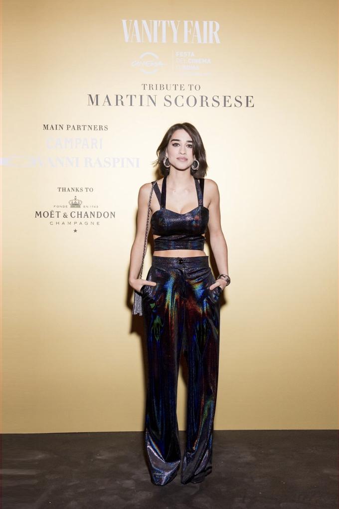 Simona Tabasco - Martin Scorsese dinner - Vanity Fair